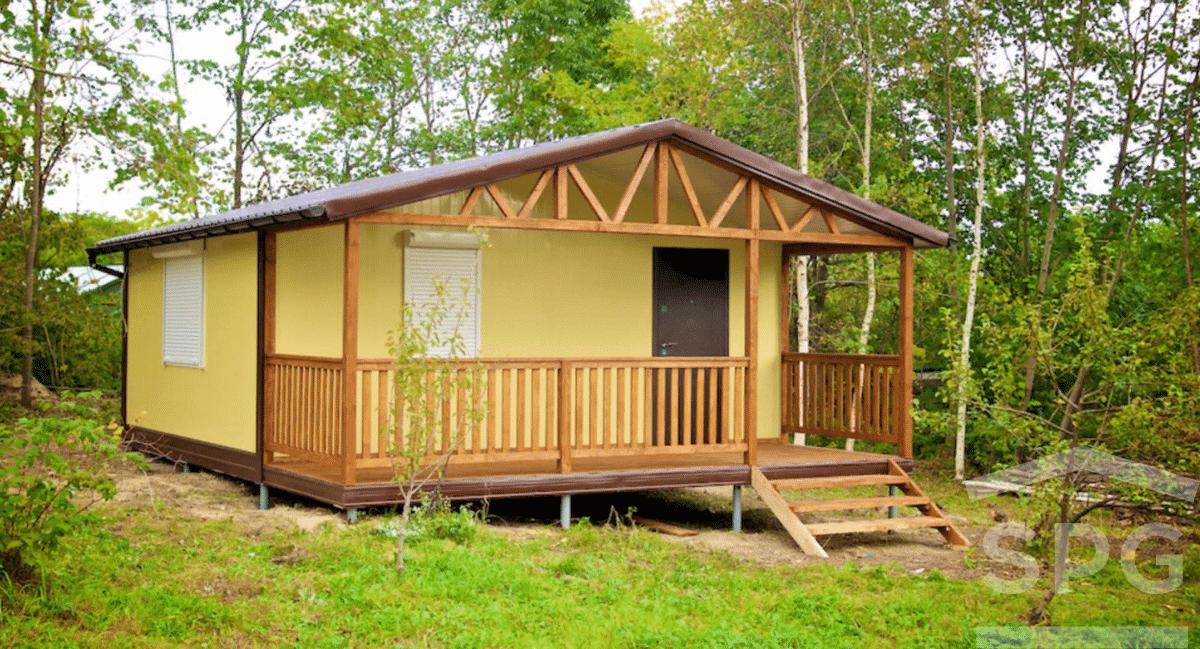 Садовый домик 6х7