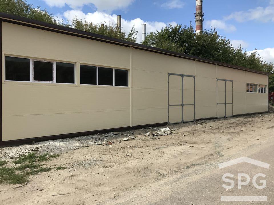 Промышленный гараж 28х10